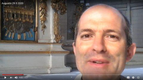 Message du Père Augustin Drillon, vendredi 29 mai 2020