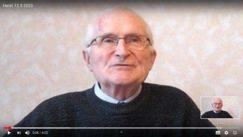 Message du Père Henri Groizeau, mardi 12 mai 2020