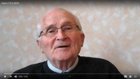 Message du Père Henri Groizeau, vendredi 15 mai 2020