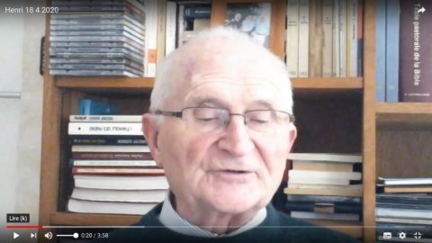 Message du père Henri Groizeau, samedi 18 avril 2020