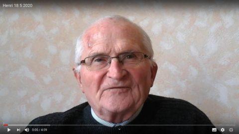 Message du Père Henri Groizeau, lundi 18 mai 2020