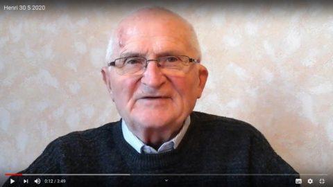 Message du Père Henri Groizeau, samedi 30 mai 2020