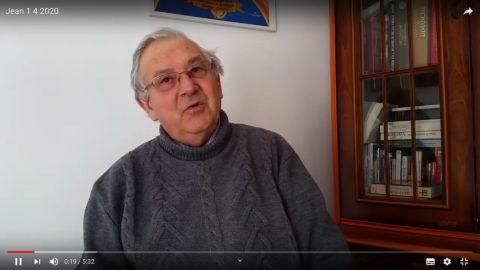 Message vidéo du Père Jean Provost, mercredi 1er avril 2020