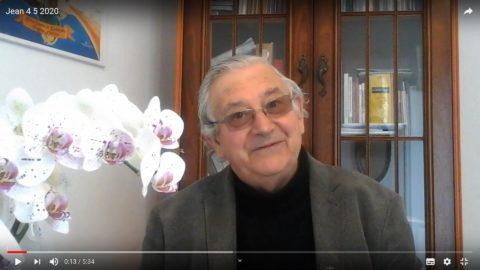 Message du Père Jean Provost, lundi 4 mai 2020
