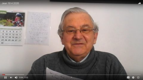 Message vidéo du Père Jean Provost, vendredi 10 avril 2020, Vendredi Saint