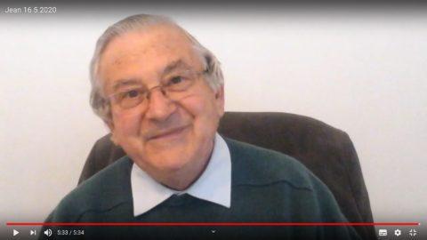 Message du Père Jean Provost, samedi 16 mai 2020