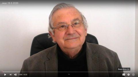 Message du Père Jean Provost, mardi 19 mai 2020