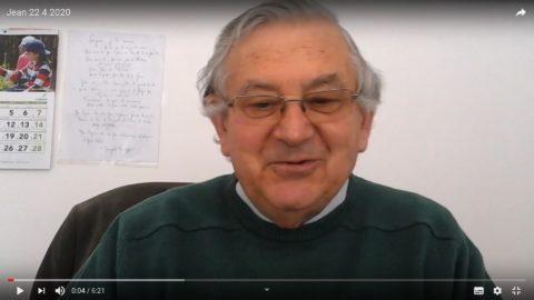 Message du Père Jean Provost, mercredi 22 avril 2020