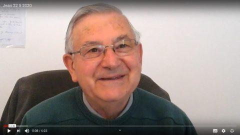 Message du Père Jean Provost, vendredi 22 mai 2020