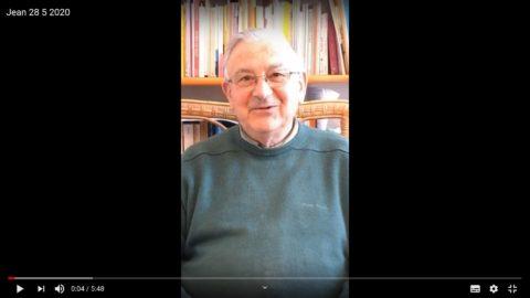 Message du Père Jean Provost, jeudi 28 mai 2020