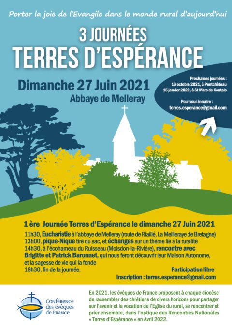 Dimanche 27 juin 2021 – Terres d'espérance à l'abbaye de Melleray