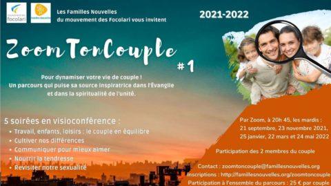 """Zoom Ton Couple"", 2 sessions en visioconférence."